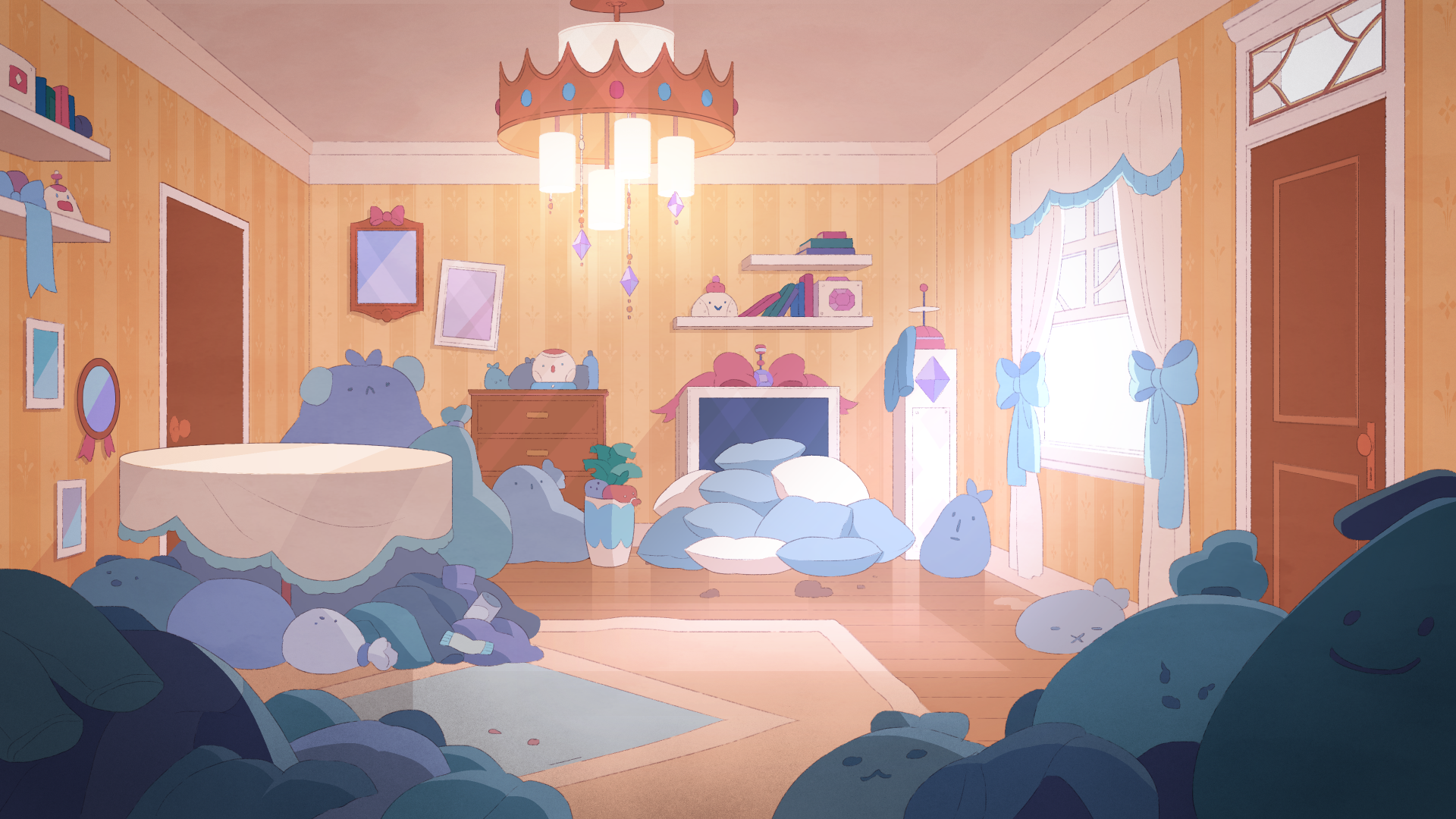 Cardamom S House Bee And Puppycat Cartoon Background Anime Scenery Wallpaper
