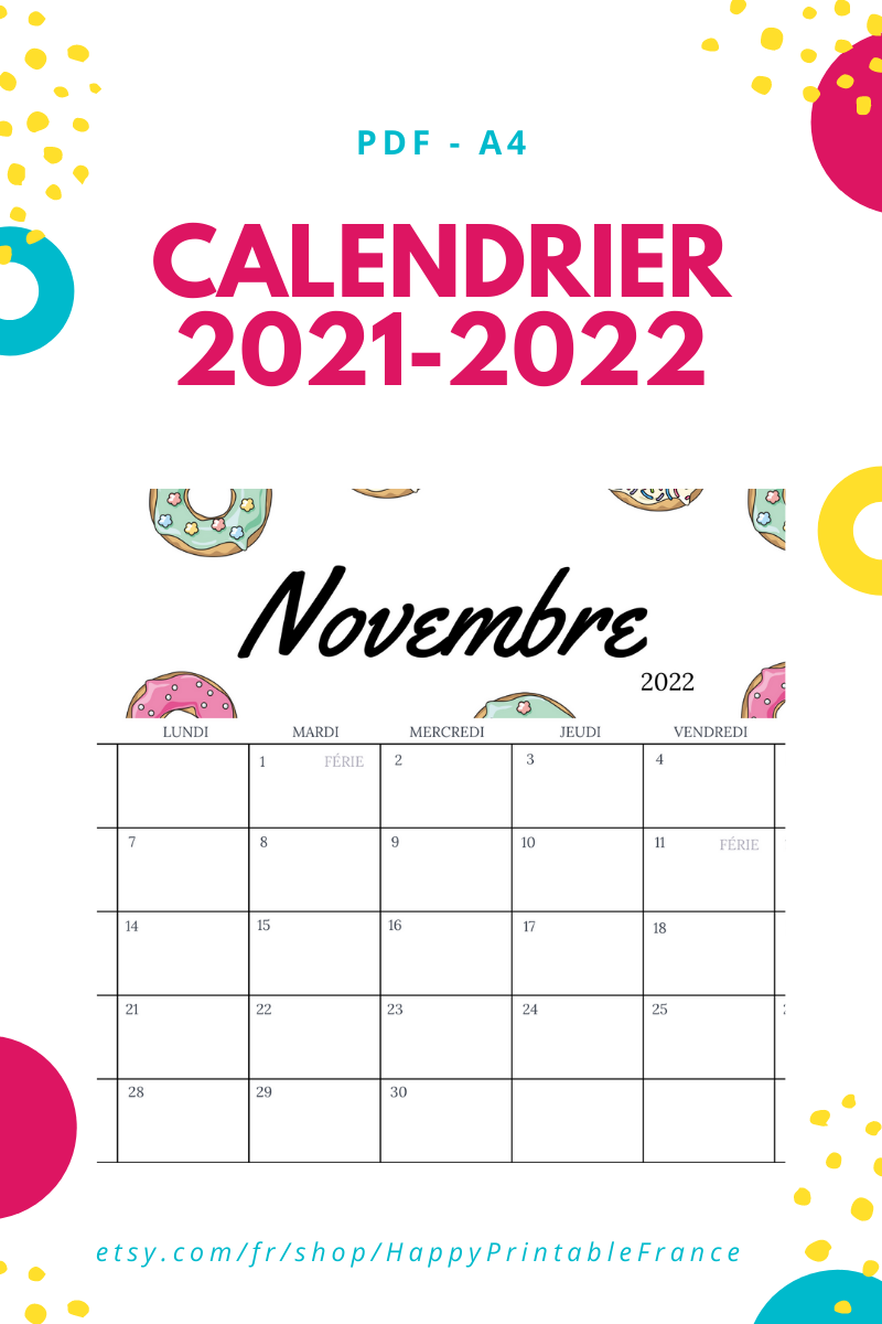 Calendrier Mensuel 2022 A Imprimer Wall Calendar 2021 2022   Monthly Calendar 2021   Printable   A4