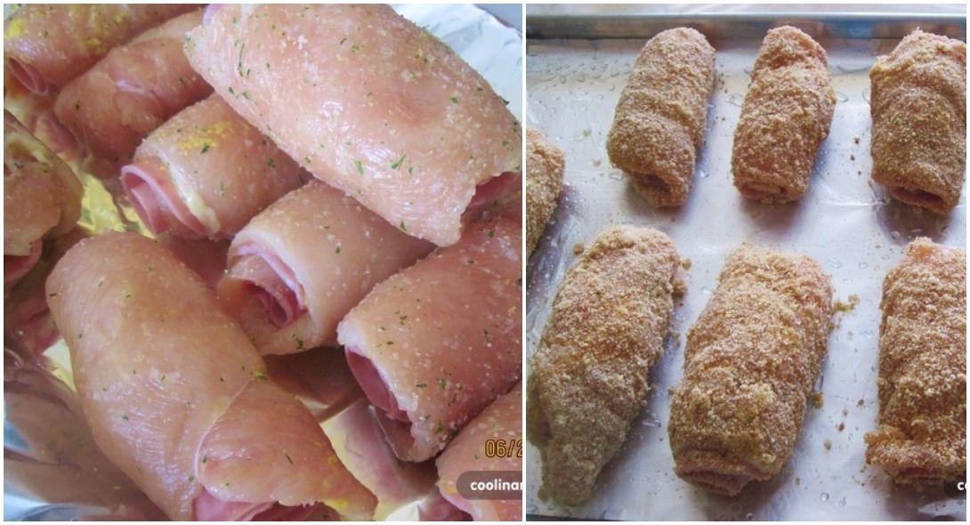 Zabudnite na obyčajné kuracie prsia. Urobte si doma Cordon Bleu bez smaženia, pečený v rúre. Ich vôňu a chuť si zamilujete! | Chillin.sk