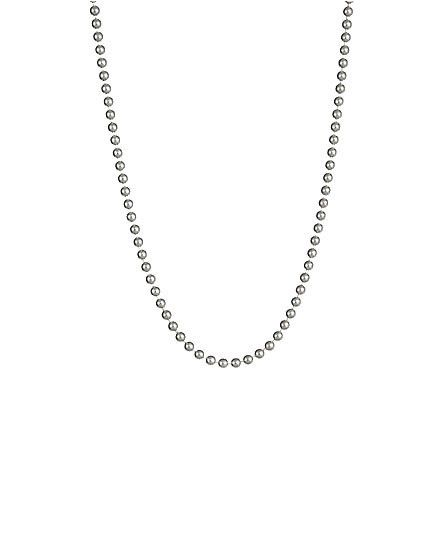 1.2mm Ball Chain Necklace 925 Sterling Silver