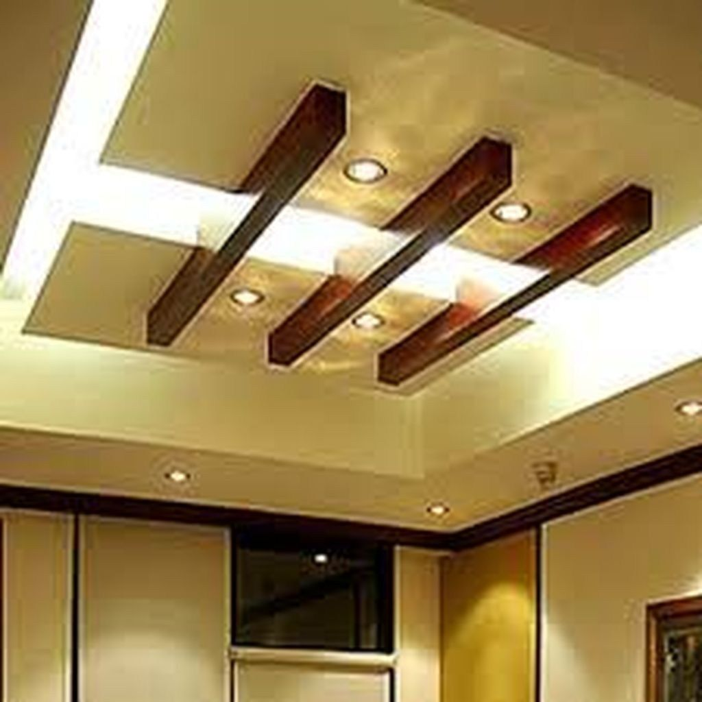 Awesome Simple Ceiling Designs For Living Room 33 Pop False Ceiling Design False Ceiling Design Simple Ceiling Design #simple #ceiling #design #for #living #room