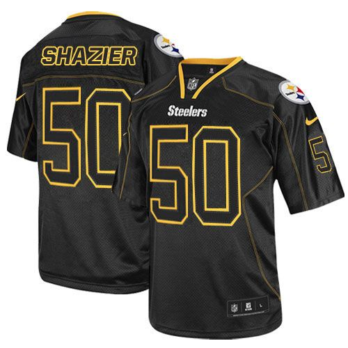 Authentic Ryan Shazier Jersey: Steelers Big & Tall Elite Limited ...