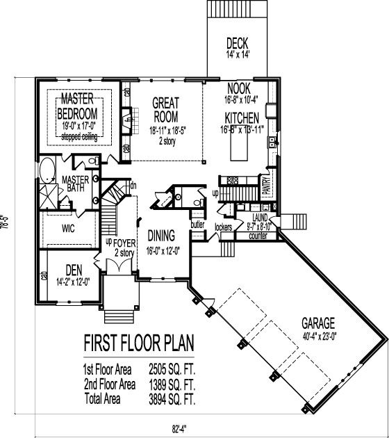 2 Story 4 Bedroom House Plans Exteriors And Floorplans Pinterest