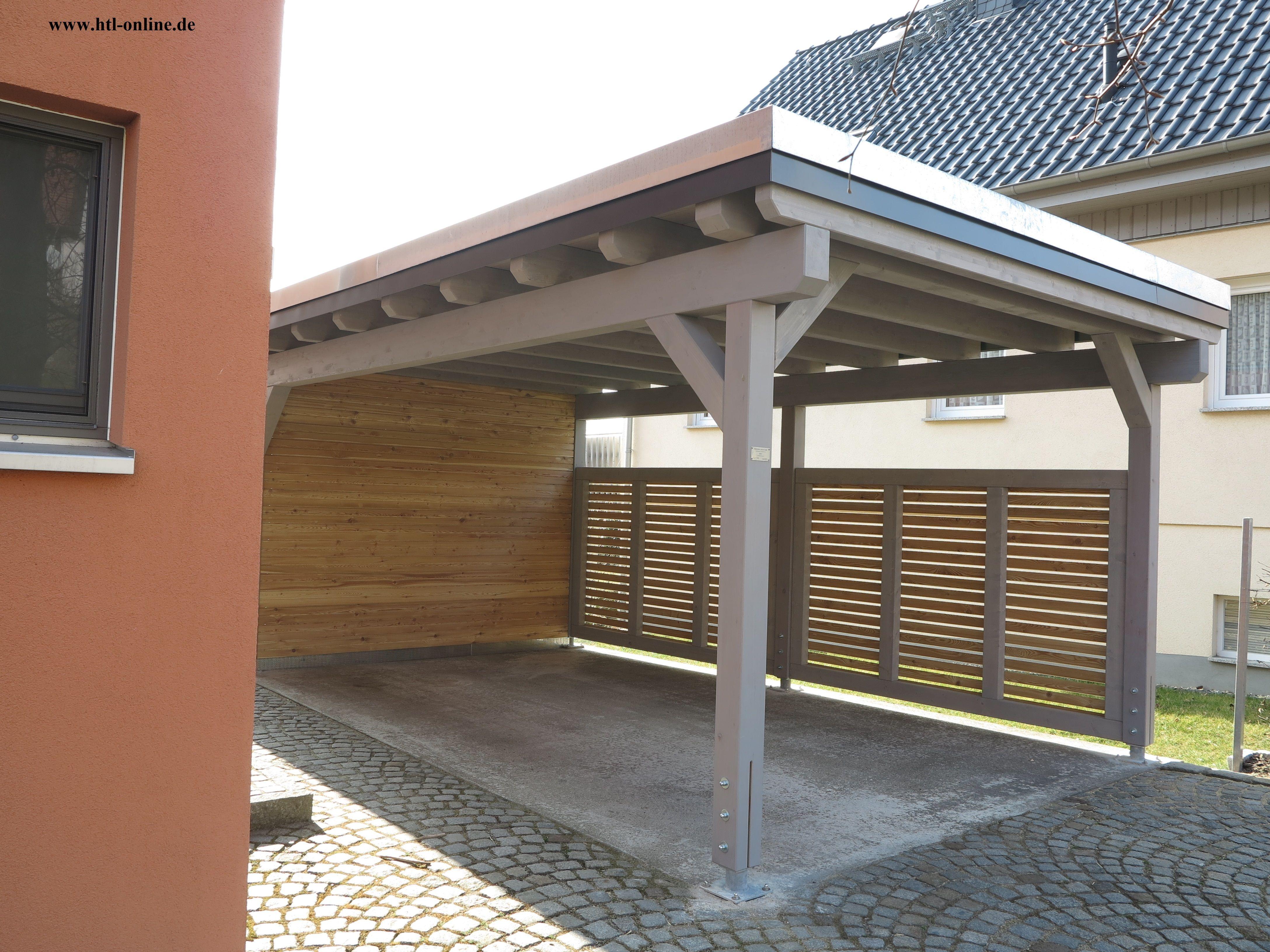 Carport aus Holz HTL Holztechnik Holz Arbeit mit Holz