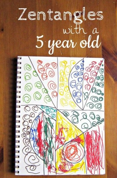 Zentangles frees kids up to explore their creative side.