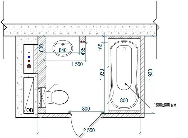 plan petite salle de bain - Recherche Google case - baie Pinterest