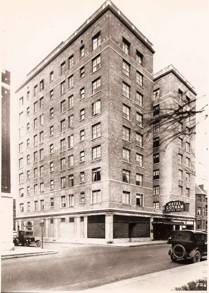 The Gotham Hotel was where all the jazz talent stayed when they played in the Valley. Ellington ...