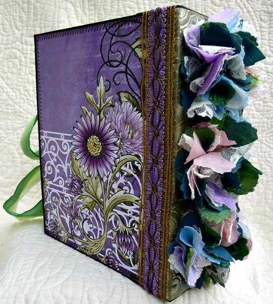 Twag Kristi Fairy Premade Scrapbook Album Stitched Scrapbook