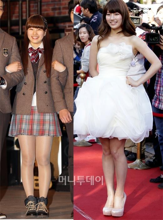 Kpop Weight Loss Before And After : weight, before, after, Suzy's, Before, After, Photos, Suzy,, Diet,