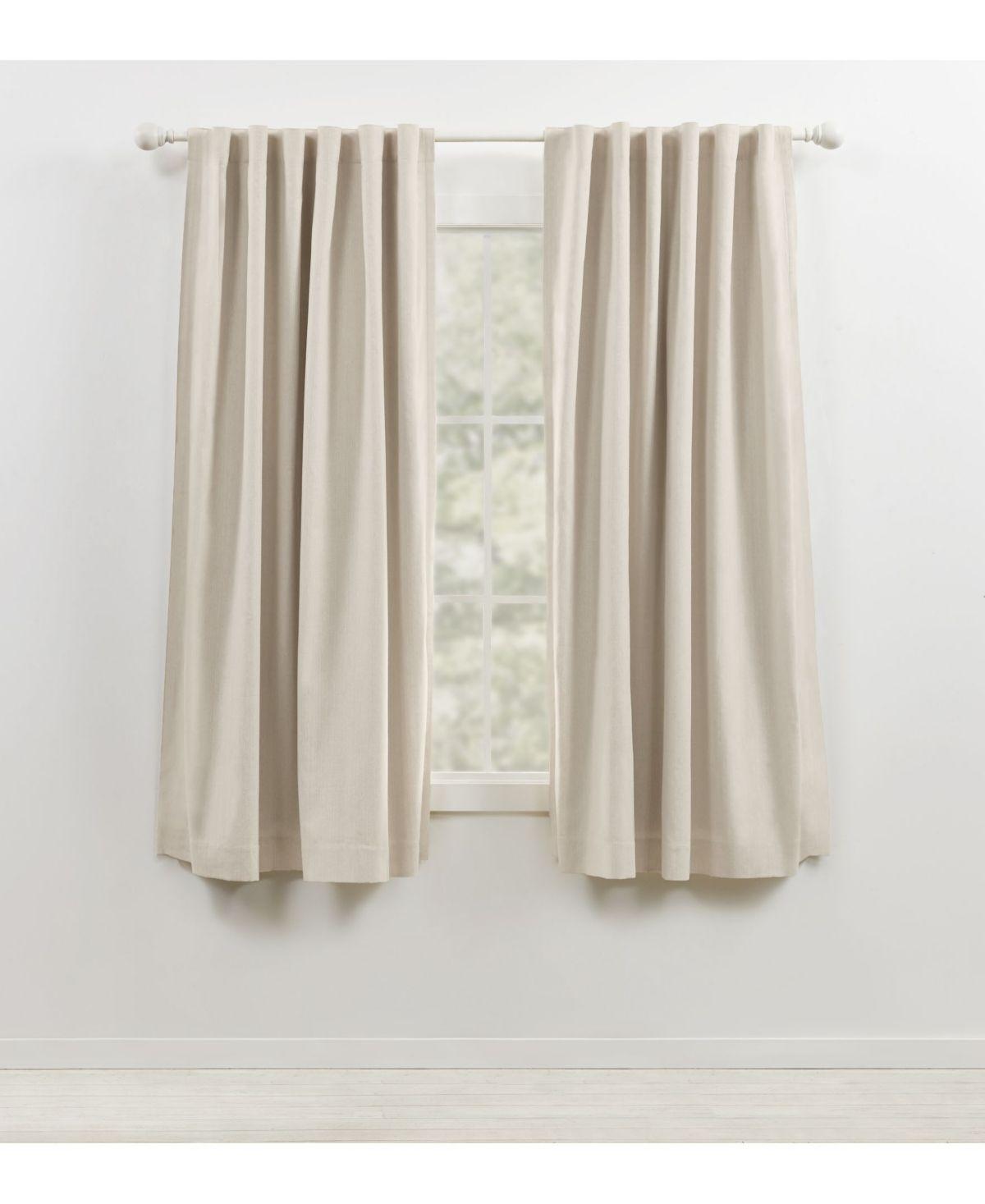 Lauren Ralph Lauren Sallie Blackout Back Tab Rod Pocket Curtain