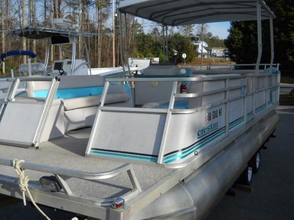 Used 1992 Crest Pontoon Boats Crest Iii Buford Ga