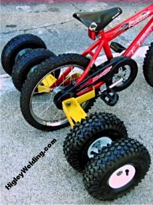 Heavy Duty Small Bike Training Wheels Comes With 2 Or 4 Wheels And