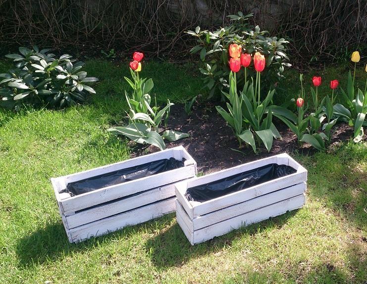 Skrzynia Skrzynka Donica Drewniana Na Kwiaty 5266172228 Oficjalne Archiwum Allegro Outdoor Decor Outdoor Furniture Garden