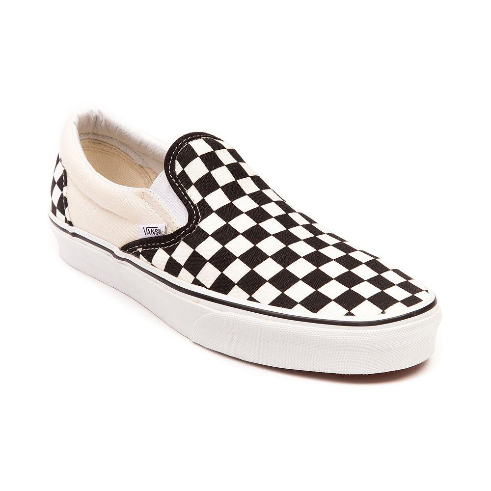 checkerboard slip on vans journeys nz