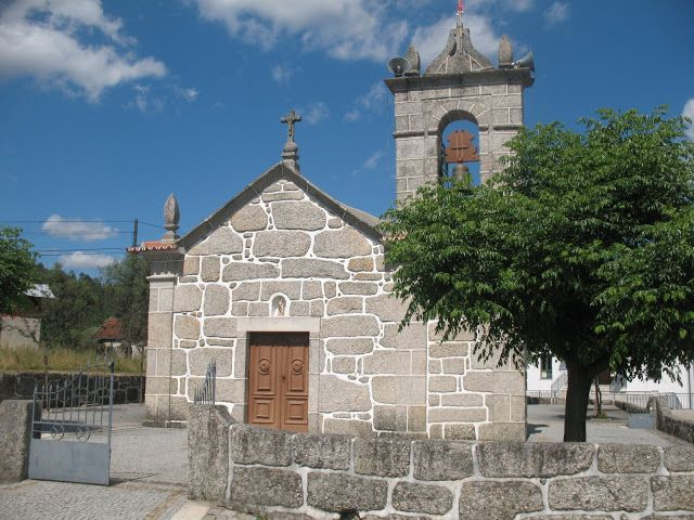 HELDER BARROS: Igreja de São João Baptista de Várzea, em Amarante!