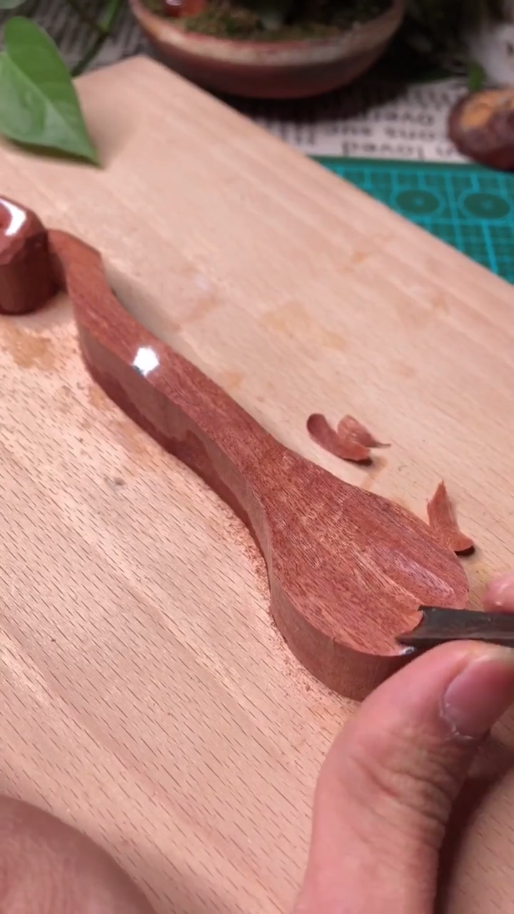 Woodcraft wood spoon DIY tutorial