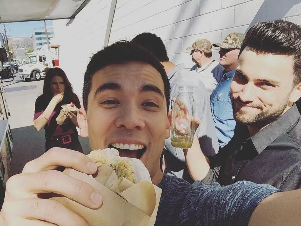 91 best coliver images on pinterest jack falahee tv series and conrad have some ice cream jack i still have to take my shirt off in real life holds up juice karla mmmphhff by conradricamora ccuart Gallery