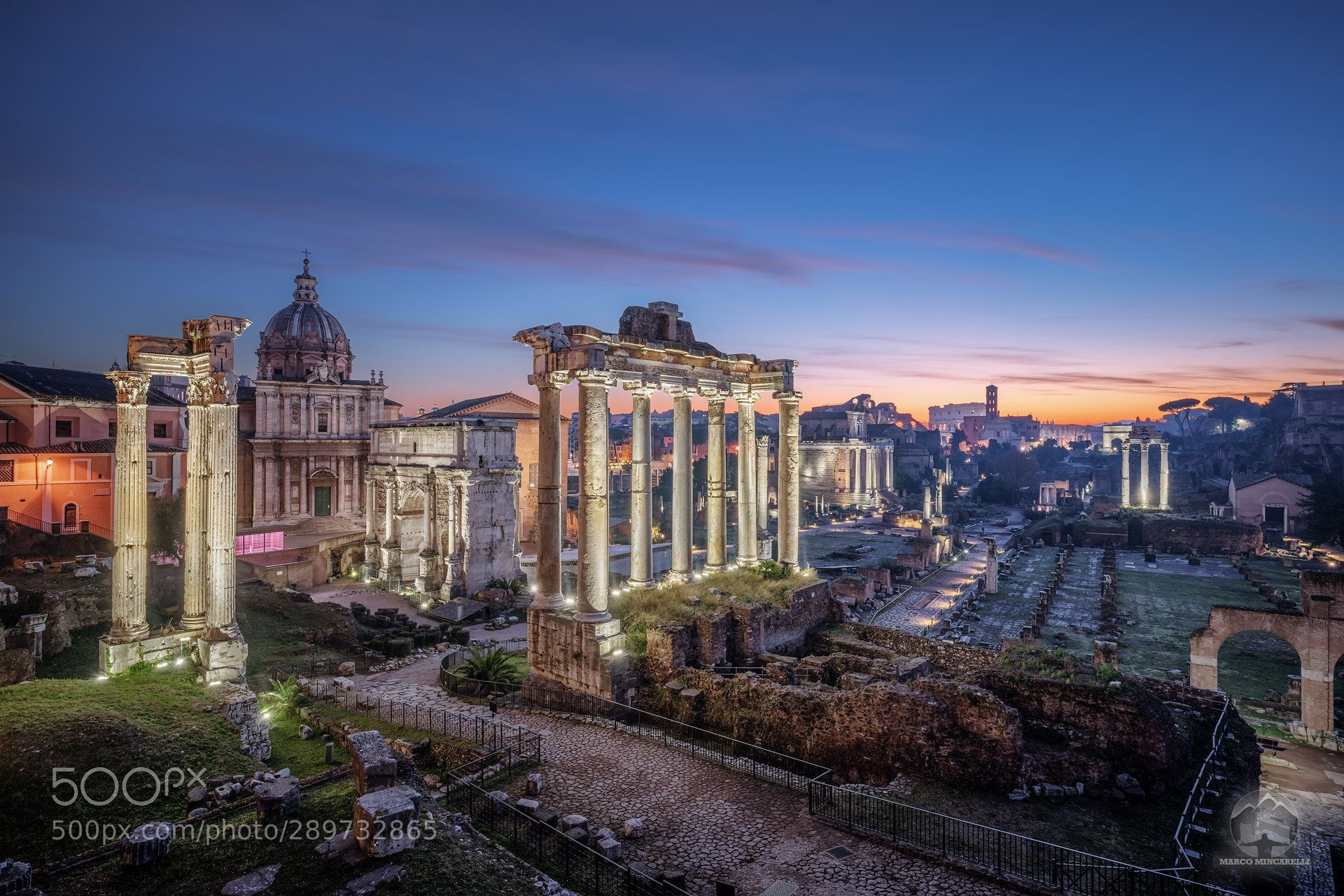 Roman forum at sunrise by ShutterMarco | 500px[City