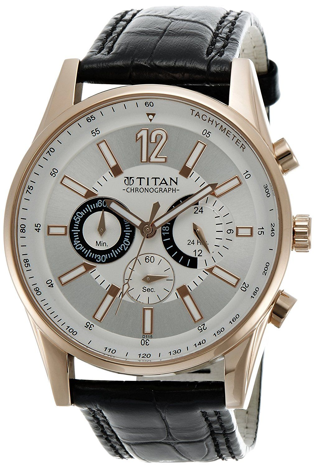 6c2e4b3c58 Buy Titan Octane Chronograph Multi-Color Dial Men's Watch - NC9322WL01A  Online at Low Prices in India - Amazon.in