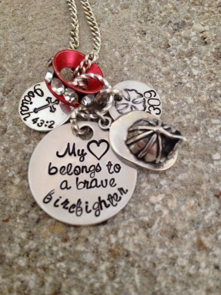 on wife best family firefighter firefighters girlfriend jewelry info fire images necklace dinosauriens pinterest