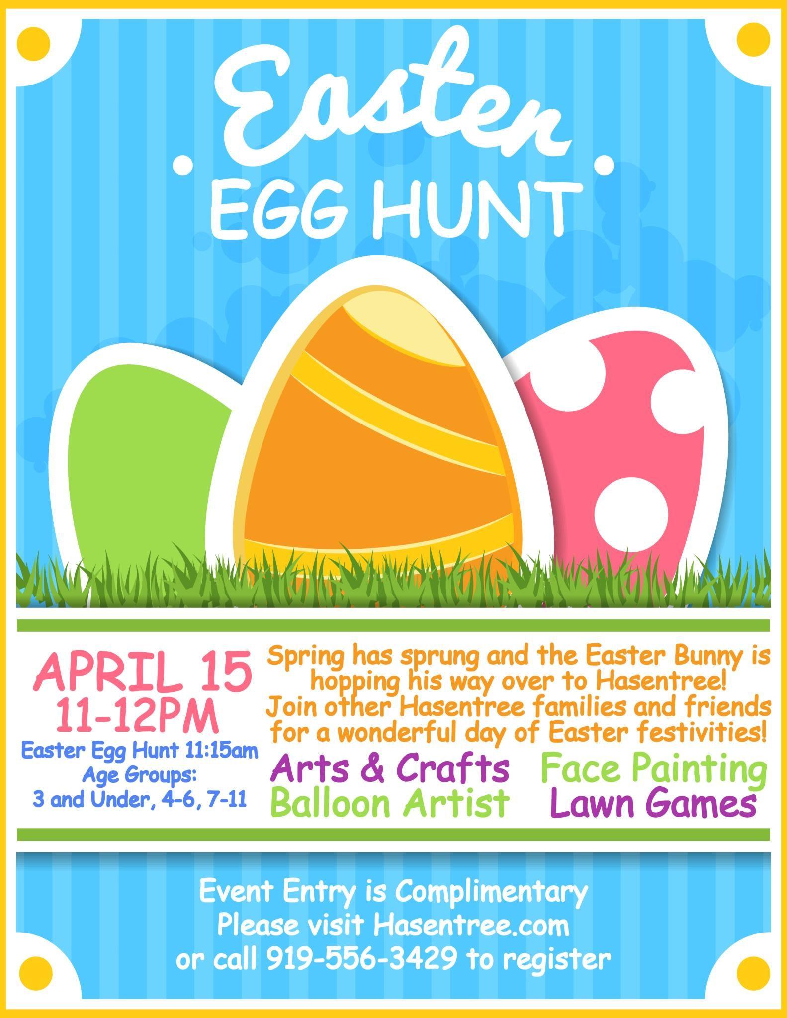 Easter Egg Hunt - Hasentree