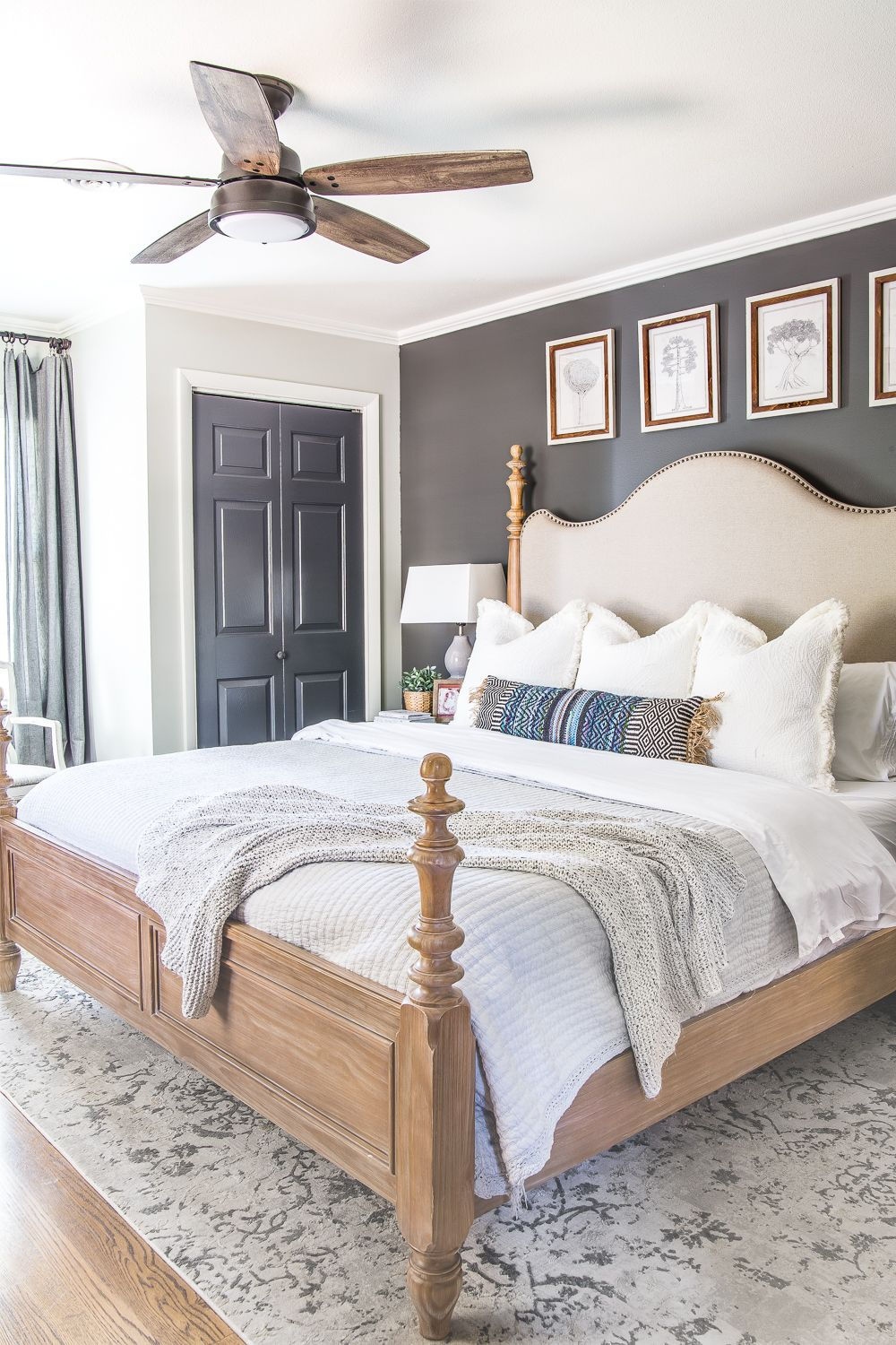 20 Gorgeous Modern Ceiling Fans Rustic Master Bedroom Master Bedroom Lighting Modern Bedroom