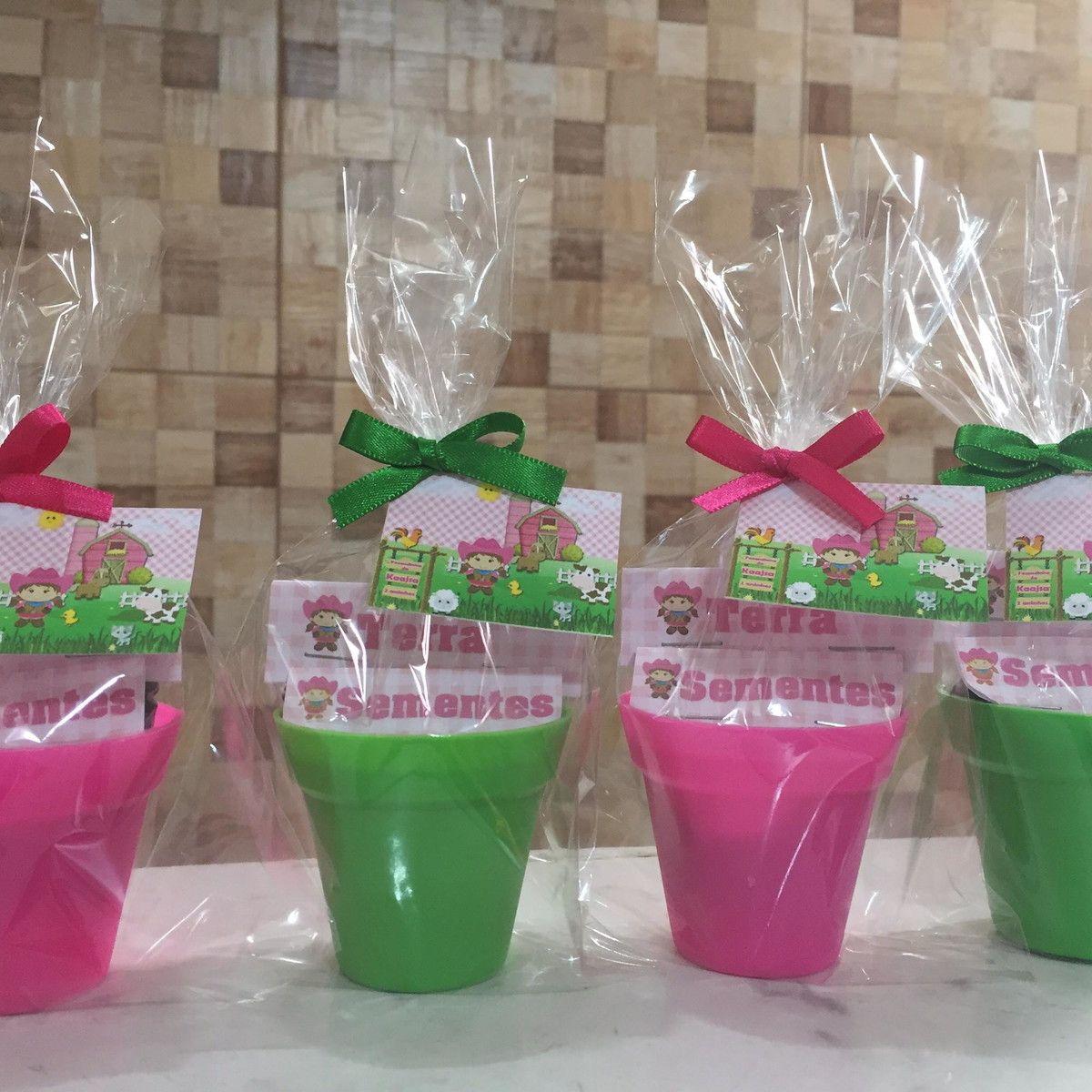 vasinhos de plastico para lembrancinhas