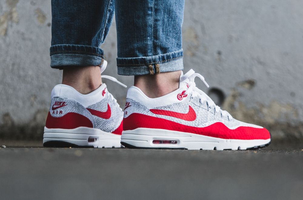 air max 1 bleu rouge