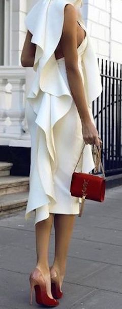 Ivory....red accessories