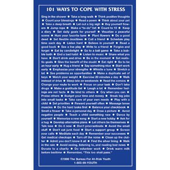 101 ways to cope with #STRESS!