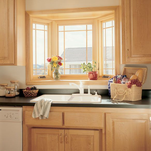 Bay Window Over Kitchen Sink Google Search Kitchen Bay Window Window Over Sink Kitchen Sink Window