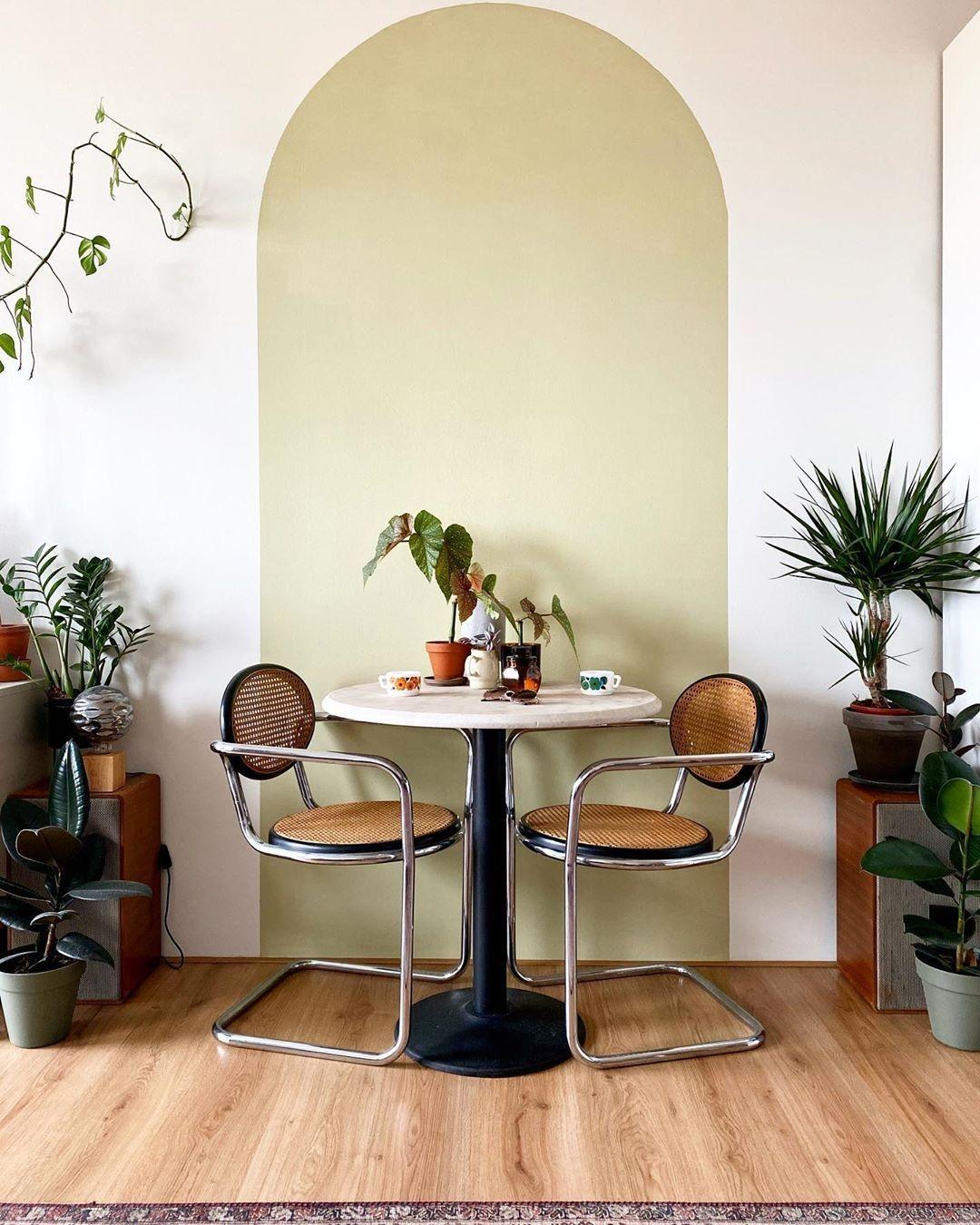 Photo of Pintura geométrica na parede: 16 ideias para mudar a decoração já