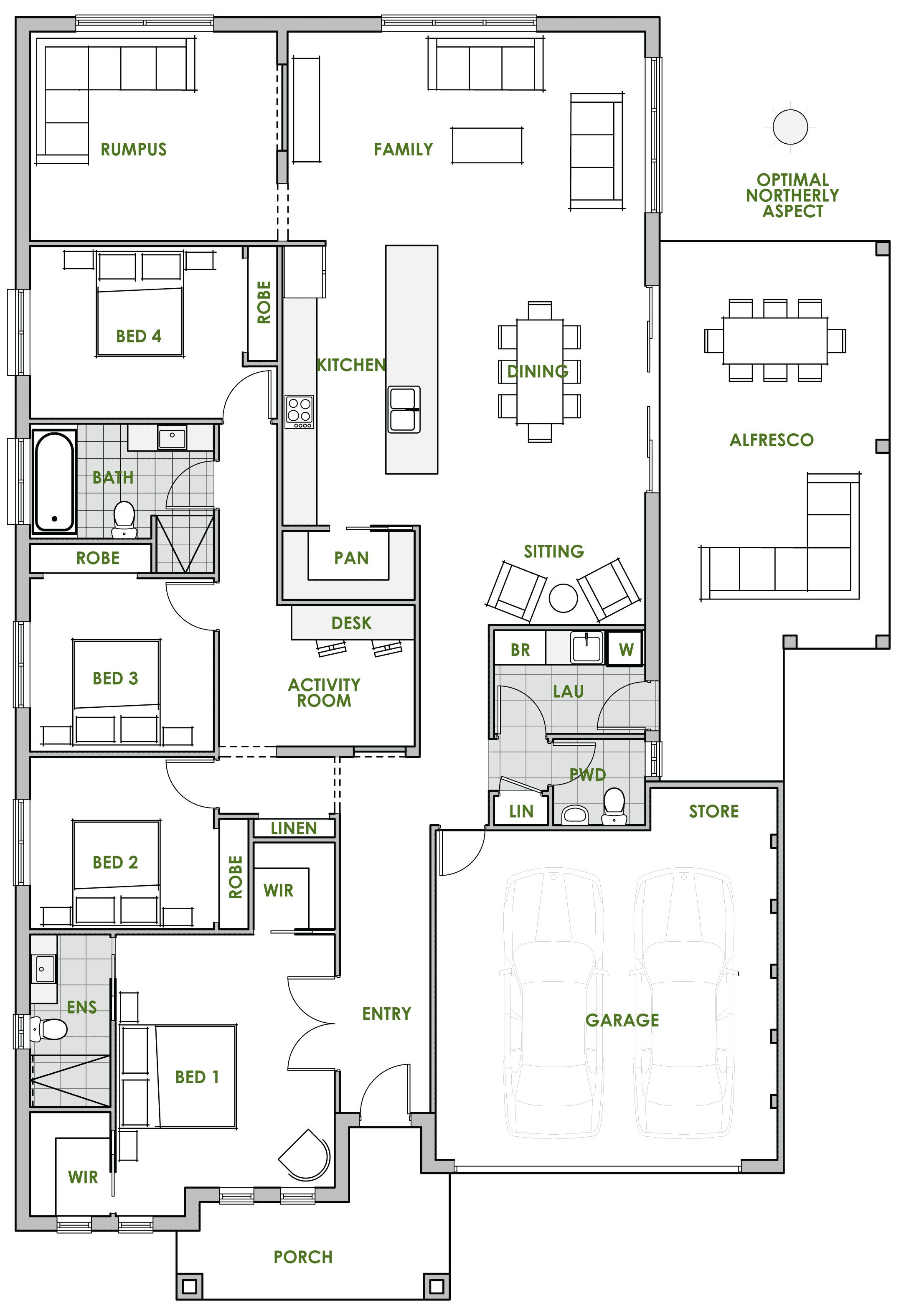 Pin On Solid Floor Plans