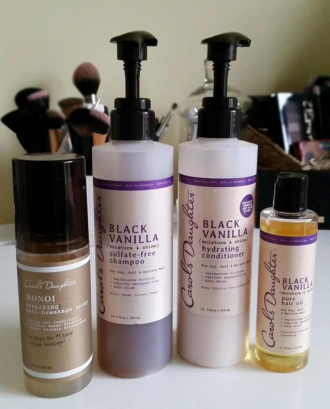 carol's daughter black vanilla review Natural hair