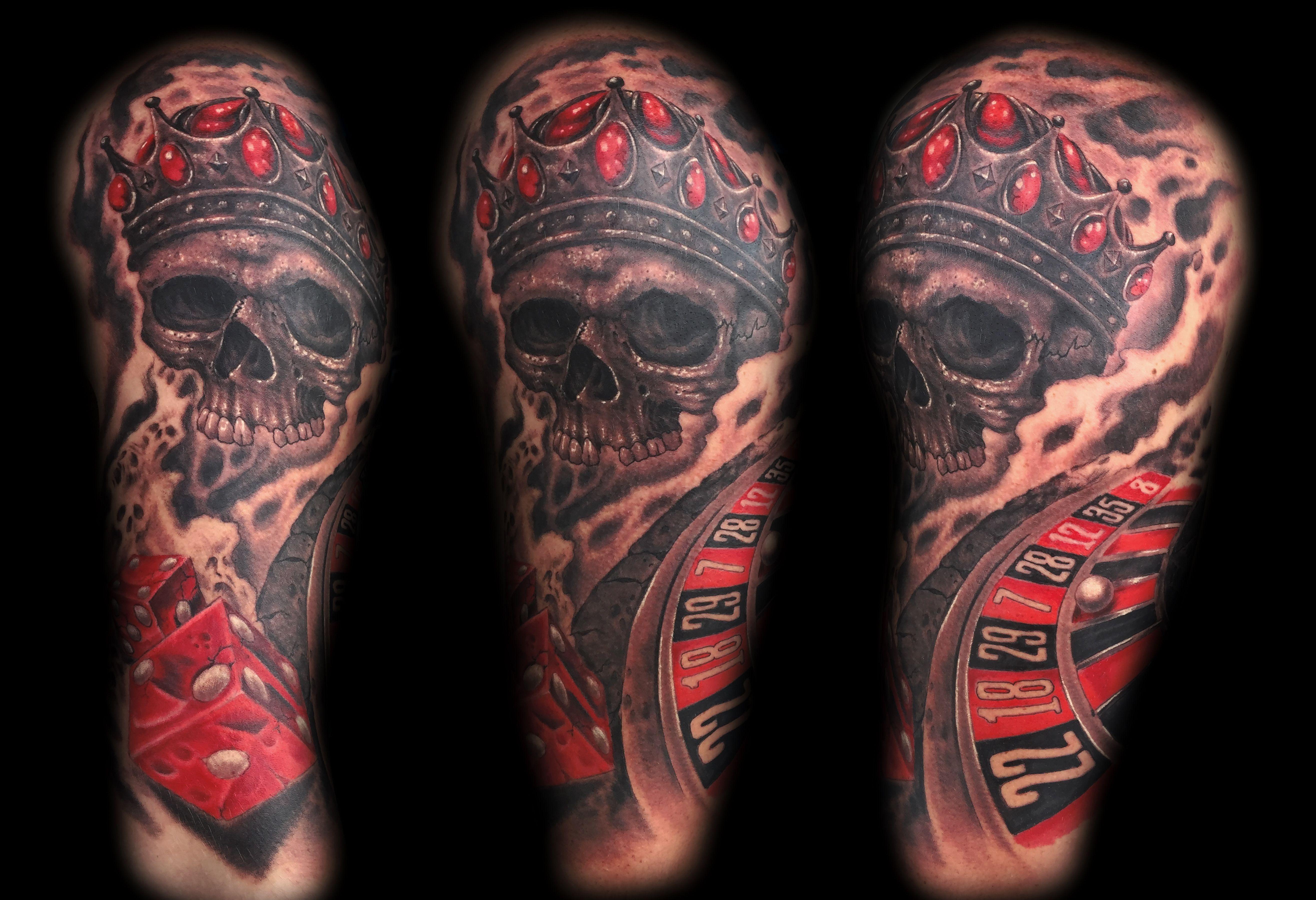 Las vegas skull tattoo tattoos tattoo las vegas las vegas