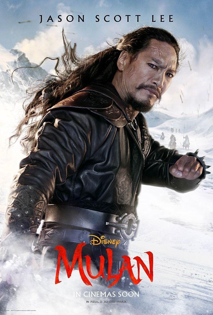 Mulan Jason Scott Lee Em 2020 Com Imagens Mulan Filmes Live