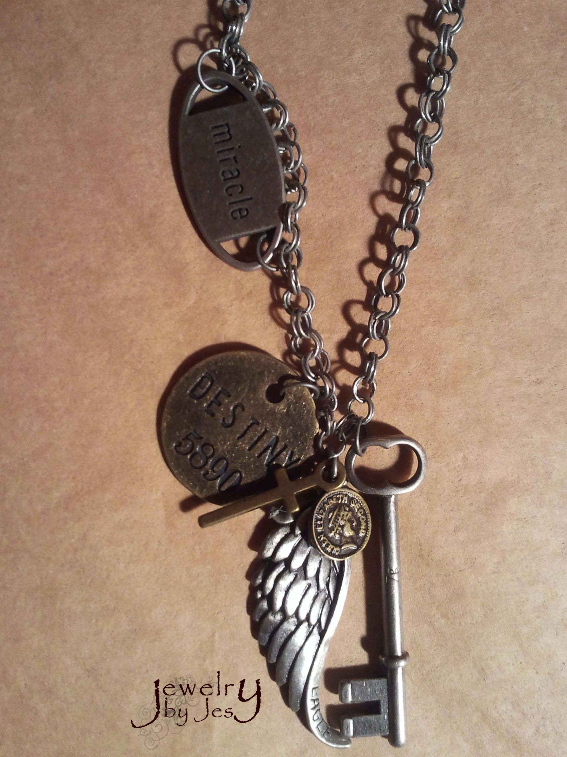 Great piece. More handmade jewelry at www.thecrowscorner ...