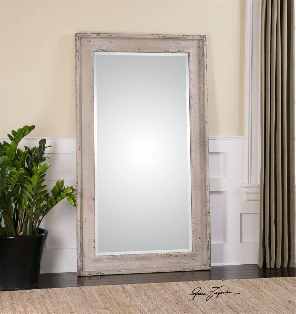 Uttermost Alano Antiqued Leaner Mirror