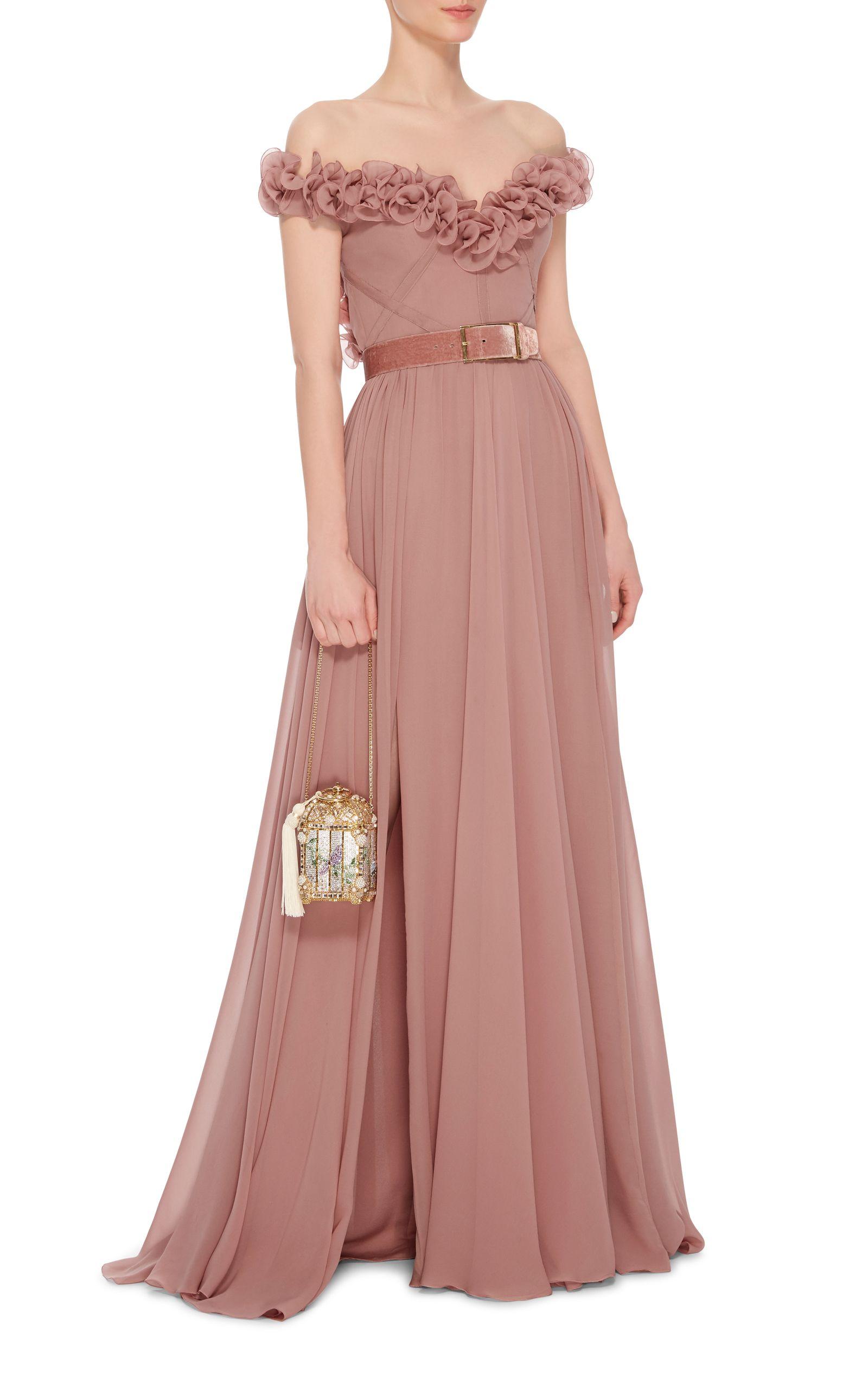 Elie Saab Sleeveless Ruffled Gown | Fashion | Pinterest