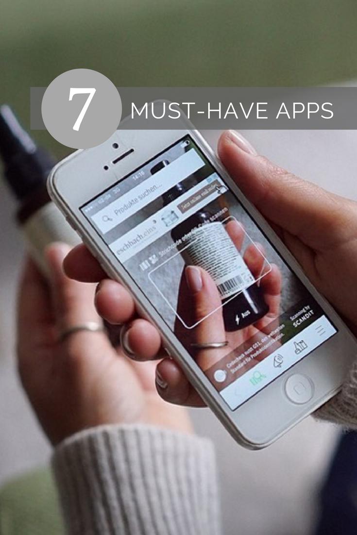 7 #Apps die du auf deinen #Smaphones haben solltest. #musthave #women #life #lifestyle #periods #tip...