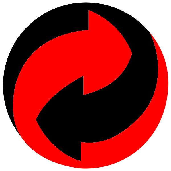 Endless Arrows Circle Icon Circle Arrow Symbol Free Clip Art