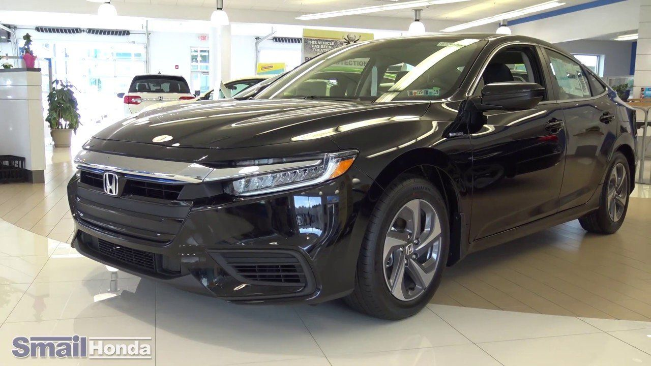 2019 Black Honda Insight Pricing from 2019 Honda Insight