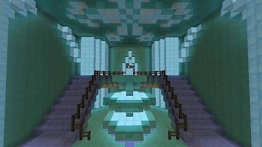 minecraft interior design castle