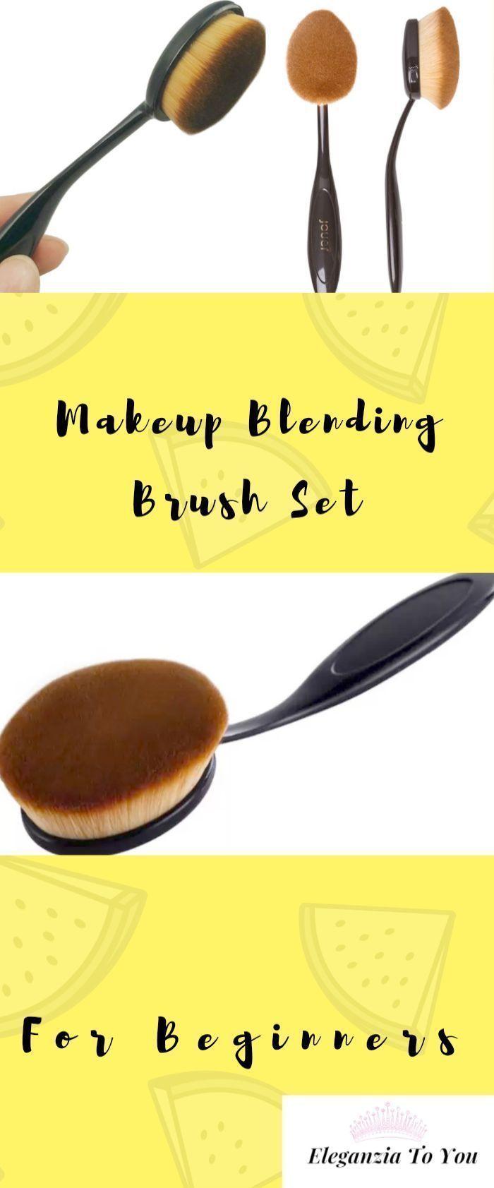 Photo of LHEI 10 Pcs Rose Gold Makeup Brushes Set Professional Eye Makeup Brushes …