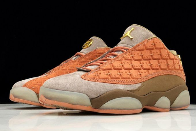 4930884592bca9 2019 Air Jordan 13 Low x Clot Terra Blush Terracotta Warriors AT3102-200-5