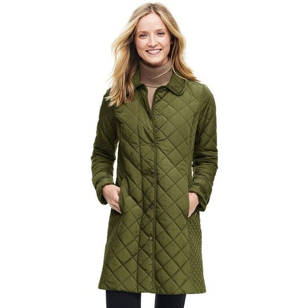 Lands' End Women's Tall Quilted PrimaLoft Coat (4.390 RUB ...
