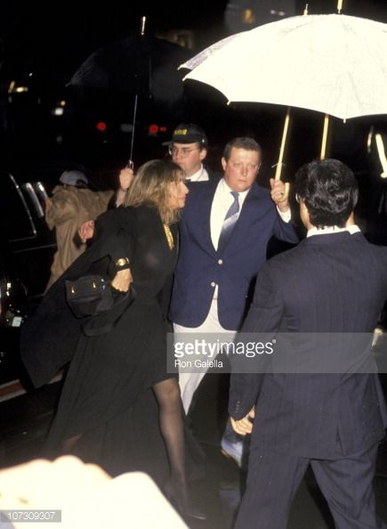 barbra+Streisand+friars+club+entertainer+Streisand | News Photo : Barbra Streisand and security during Wedding of...