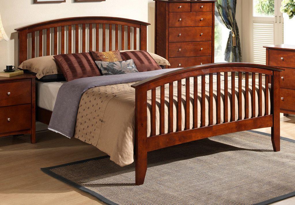 Queen Bed Bedroom furniture sets, Mission style bedroom