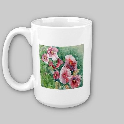 Summer Flowers Mug by Ragtimelil