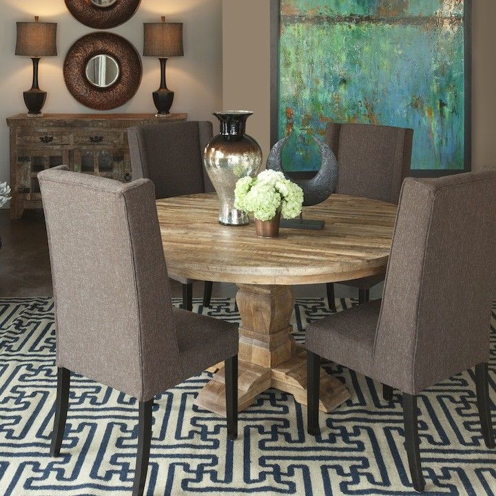 Karma Round Dining Table I O Metro Furniture Art Accessories